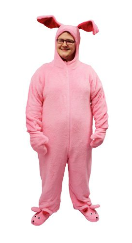 30a67c383c90 Amazon.com  A Christmas Story Deluxe Bunny Suit Pajamas from Aunt Clara   Clothing