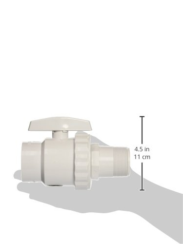 Hayward SP0723 Trimline 2-Way Ball Valve, 1-1/2-Inch FIP Pipe and 1-1/2-Inch MIP ABS Material