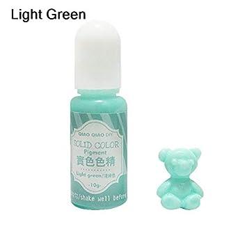 ... de Pigmento Colorante Resina UV Artesanía BRICOLAJE Epoxi Molde de Silicona Colorante Líquido hecho a Mano Joyería Encanto Limo Hacer: Amazon.es: Hogar