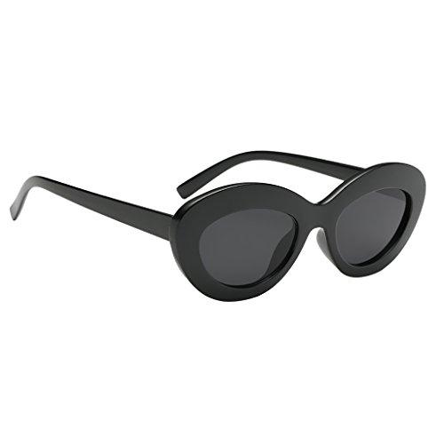 400 Mujer 03 Sol para 07 Sunglasses Plástico Gafa Baoblaze de Retro Hombre de Marco Estilo UV R4vAA7wqx