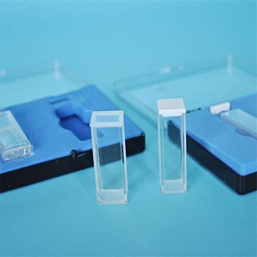 Laliva Quartz cuvette 10mm / UV/imported JGS1 glass/high temperature resistant acid and alkali/two light - (DN: Light glue)