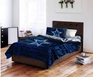 NFL Dallas Cowboys Bedding Set Size: Queen