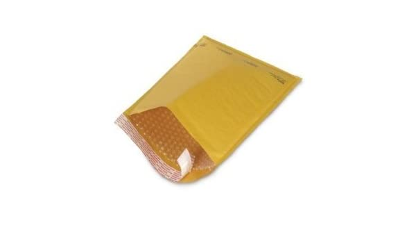 """1000 #00 5x10 Kraft Bubble Mailers Self Seal Padded Shipping Envelopes 5/""""x10/"""""""