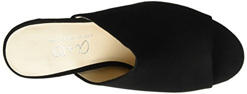 Another Pair of Shoes Miae1, Mules para Mujer Negro (Black01)