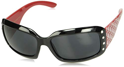NCAA Alabama Crimson Tide Womens Rhinestone Designer Sunglasses