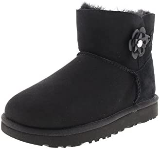 UGG - Stivali MINI BAILEY PETAL - black