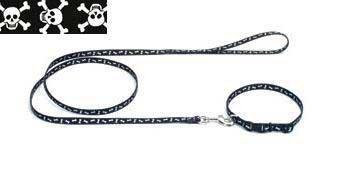 Coastal Pet Nylon Pirate Collar Skz 3/8