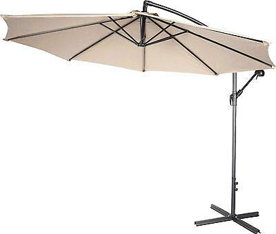 c8317a7c9f3d1 Image Unavailable. Image not available for. Color: AK Energy 10FT 8 Ribs Hanging  Roma Offset Outdoor Patio Umbrella ...