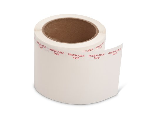 Pacific Bag 600-102 Resealable Tape (Roll of 1000)