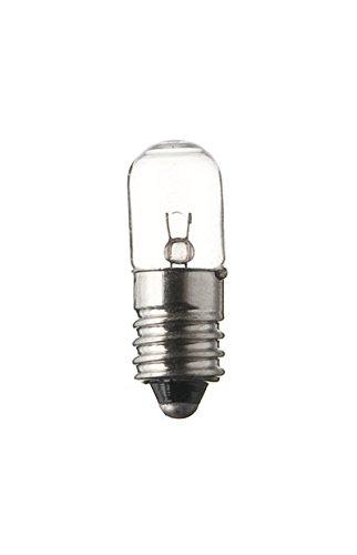 spahn di 10 pezzi lampadina 12 V 100 ma 1, 2 W e10 10 X 28 mm lampadina lampada lampadina 12 Volt 1, 2 Watt Nuovo Confezione Da PZ. 2W e1010X 28mm lampadina lampada lampadina 12Volt 1
