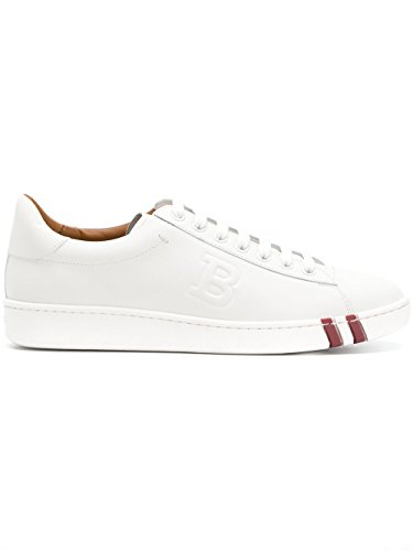 Bally Vrouwen 620588007 Witte Lederen Sneakers