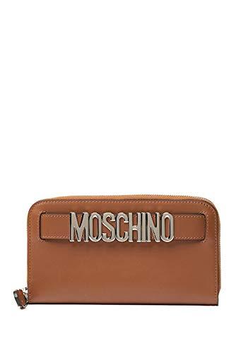 MOSCHINO Leather Zip Around...