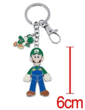 Juego Super Mario Bros Llavero Novedad de Moda Divertido 5 ...