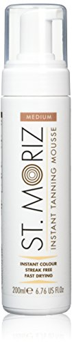 (St Moriz 200ml Instant Self Tanning Mousse Medium (Medium Mousse) )