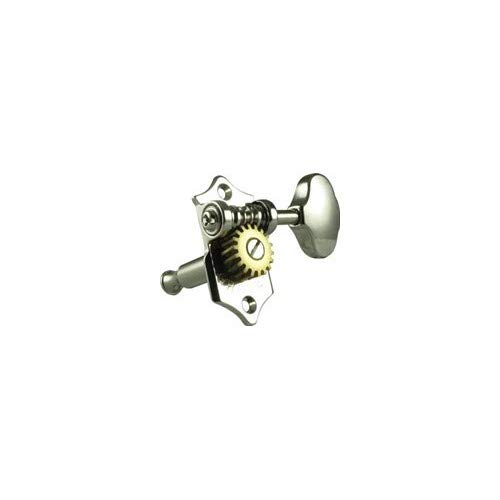 Grover V97-18NA Sta-Tite Tuners, 18:1 Gear Ratio, 3-Per-Side, Vertical, Nickel