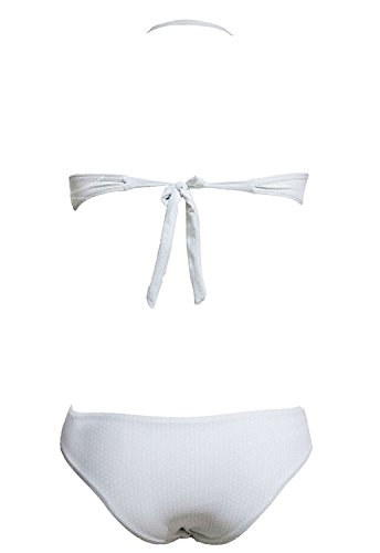 Miki Da Womens Sexy Strapless Floral Bikini Swimwear S Pattern Colorsmall