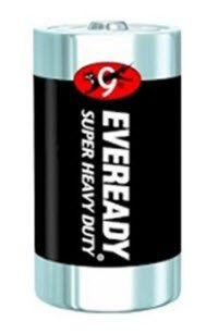 1203809 PT# 1250 Battery Size D 24/Pk Made by Eveready-Energ