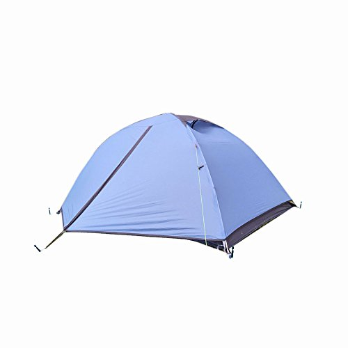 MaxMiles 1 2 Person Premium Backpacking Tent Ultra-Lightweight 20D Nylon Taffeta Rip-Stop Tent 3.4lb/1.5kg - Strong Durable Waterproof Mountain Hiking Tent- Compact One or Two Person Ultra-Light Tent by MaxMiles (Image #9)