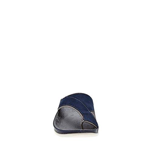 Strive Footwear Colorado Sandalias ortopédicas elegantes. - Black Iris/Charcoal Grey