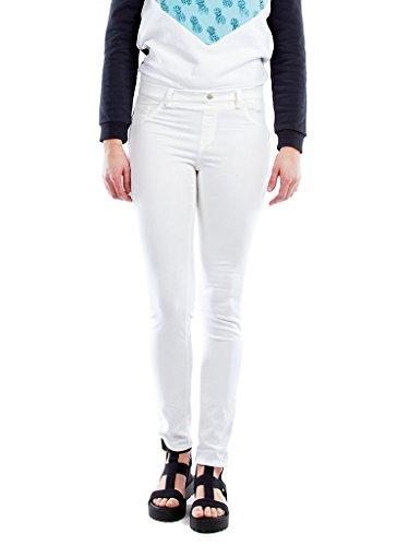 Xs Tessuto Tinta Jeans Unita Jeggings Carrera Donna It Elasticizzato Per qzvYfw