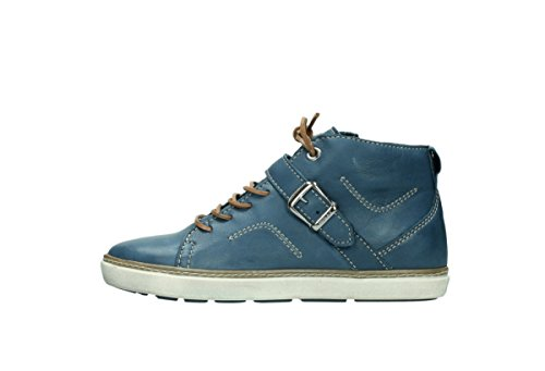 Wolky Schnürschuhe 9457 Alba 282 denim blau Leder