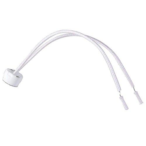 Newest MR16 Socket LED Lamp Halogen Light Holder Base Ceramic Wire Connector, 1pcs ()