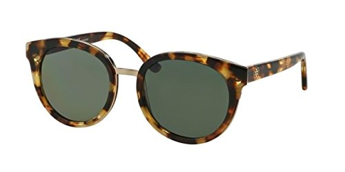 Tory Burch Women TY7062 Tortoise/Green Sunglasses - Men Burch Tory