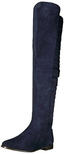 Nine West Suede Navy Women's Eltynn BwSSpPRAq