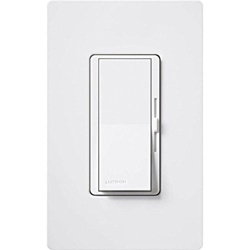 1- Lutron DVF-103P-277-WH Diva 6A 277V Fluorescent Single Pole/3-Way Dimmer White