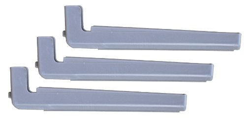 - Bohning Replacement Arms for The Tower Jig-Straight Arms, Grey