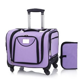 9e0d80e90051 JHDIGITAL Weekender Bag with Snap In Toiletry Case by Lori Greiner  LAVENDER  Amazon.co.uk  Luggage