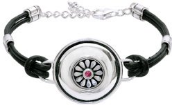 Kameleon Round Dome Bracelet KBR6 (JewelPops Sold Separately)