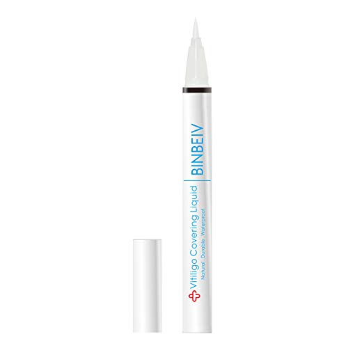 BINBEIV Vitiligo Cosmetic Camouflage Liqui, Cover appearance of Skin Depigmentation, Natural-Durable-Waterproof, Makeup…