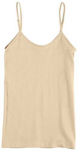One Step Juniors Reverse Up Seamless Cami X-Large Nearly nude - Reverse Cami