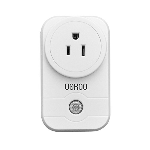 Smart Plug, UOKOO WiFi Smart Timing Socket, Wireless Outlet , No Hub Required, Control your Devices from Anywhere
