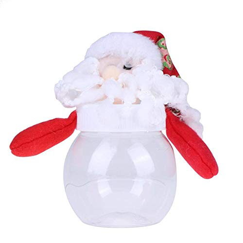Mydufish 1Pc Lovely Christmas Candy Storage Can Decor for Home Gift Biscuit Food Candy J from Mydufish
