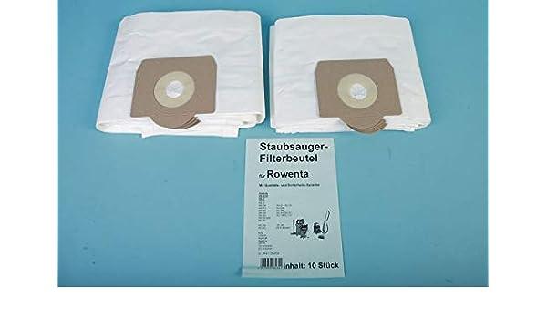 10 bolsas para aspiradoras Rowenta Kessel 20 litros – Repuesto para Swirl R 23: Amazon.es: Hogar
