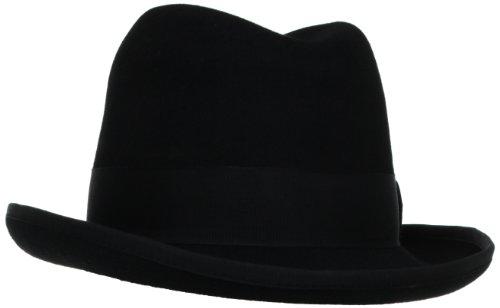 Stacy Adams Men's Homburg, Black, Large