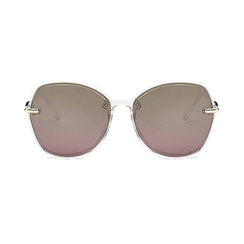 las de de Gafas la y sol sol de personalidad retro Gafas Retro de Protección polarizadas de ULTRAVIOLETA hombres conducción de sol las la de de para Marrón marco mujeres sol de del las gafas unisex gafas los n4aAWT