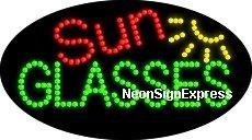 Animated Sun Glasses LED Sign - Animated Sunglasses
