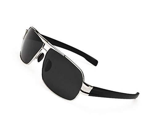 aire para hombres protectoras Mujeres de de UV400 Eyewear los sol Moda libre Hombres viajar Silver Gafas polarizadas sol conducción diaria para gafas de al 1wqHqAx