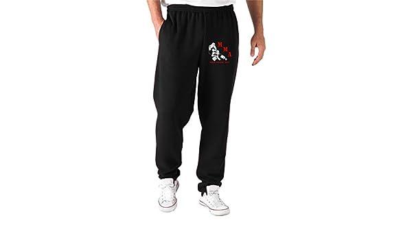 Speed - Pantalón de chándal Negro TR0097 MMA Mixed Martial Arts ...