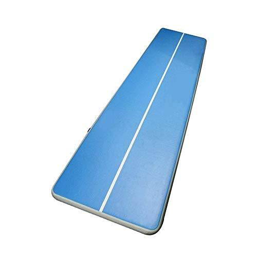 Peepheaven Taekwondo Kissen aufblasbare Matte Gymnastik Luftkissen für Training Fitness - Blau (3x1Mx20CM)