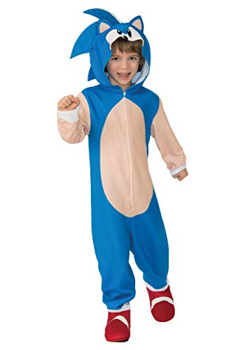 Rubie's Child's Sonic Oversized Jumpsuit Costume, Large
