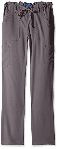 koi-womens-tall-alicia-easy-fit-mid-rise-drawstring-waist-scrub-pants-steel-medium-tall