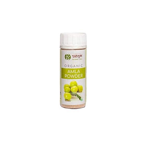 Siddhagiri's Satvyk Organic & Natural Ayurvedic Powder - 100gms (Amla Powder)