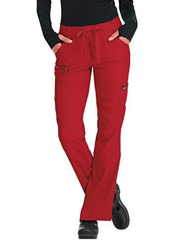 KOI lite 721 Women's Peace Scrub Pant Ruby SP (Best Nursing Scrub Pants)