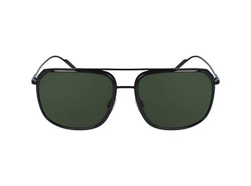 Dolce & Gabbana Men's Metal Man Aviator Sunglasses, Black/Matte Black, 58 - Gabbana Sunglasses Dolce Designer
