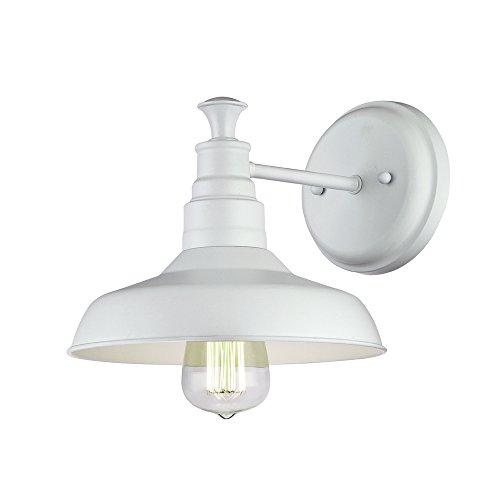 Design House 579649 Kimball 1-Light Wall Light, Antique White