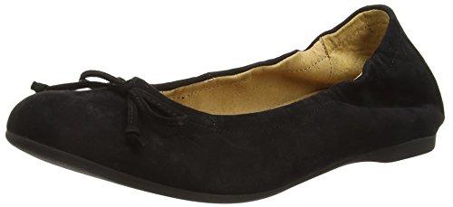 Gabor Women's Ribera Ballet Flats Black (Black Suede) 7Cq41